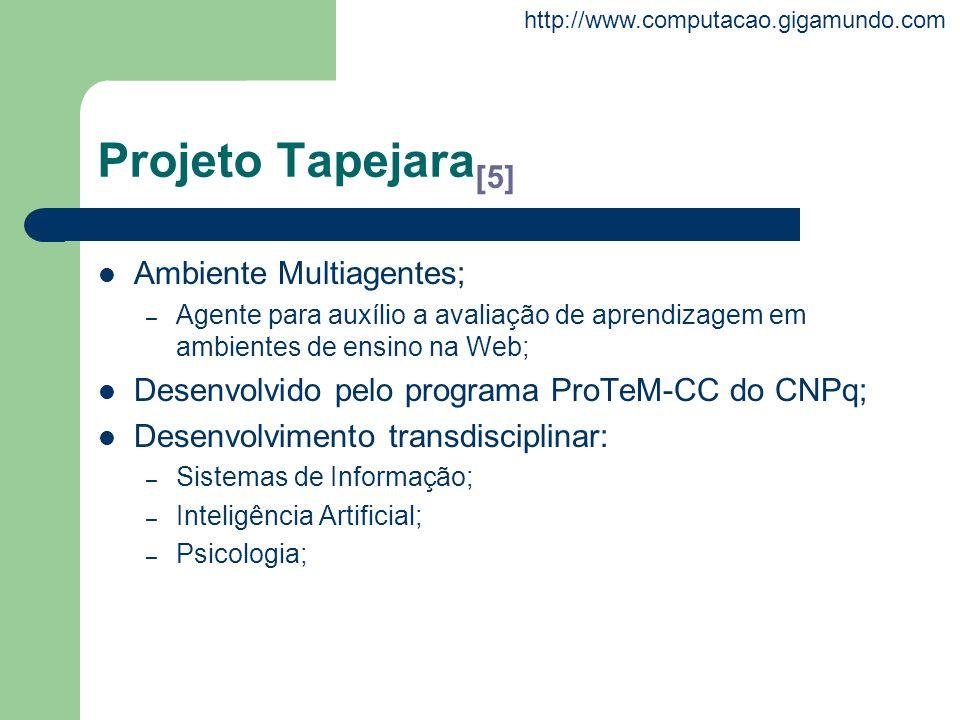 Projeto Tapejara[5] Ambiente Multiagentes;